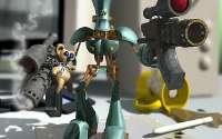 3D игрушечный робот