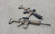 Боевая штурмовая винтовка США и Бельгии