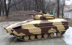 БМПВ-64, украинский бронетранспортёр.