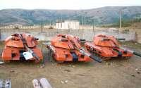 Розовые танки из фильма Обитаемый Остров