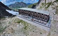 Отель в горах