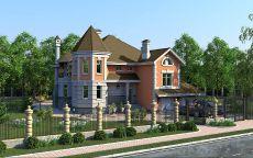 Дом в пригороде