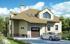 СИП дом с гаражом