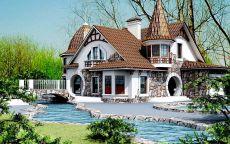 Дом в стиле фэнтези