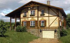 Дом в германском стиле