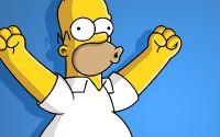 Гомер Симпсон поднял руки вверх