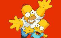 Гомер и Барт Симпсоны