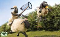 Барашек Шон в погоне за прыгающим ягненком