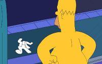 Голый Гомер Симпсон