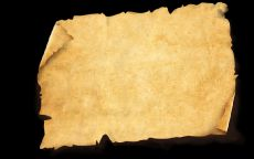 Текстура лист пергамента