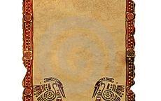 Текстура пергамент индейский