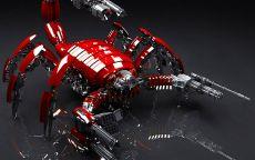 Скорпион робот