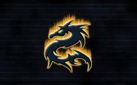 Логотип Дракон