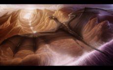 Полет дракона над высохшим руслом