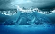 Фантастика, конц света, всемирный потоп, египетские пирамиды под водой