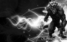 Черный волк оборотень
