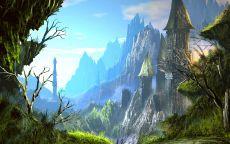 Неземной пейзаж