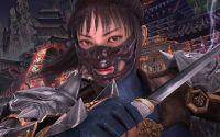 Девушка воин в маске