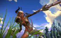 Эльф девушка с мечом