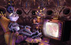 Инопланетянин смотрит телевизор