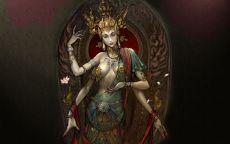 Индийская богиня
