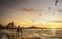Доисторический пляж