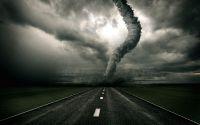 Торнадо на шоссе