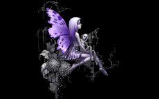 Фея с крыльями бабочки