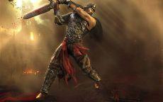 Удар мечом