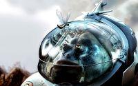 Астронавт в скафандре