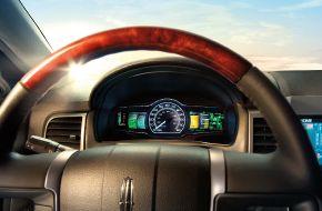Панель приборов Lincoln-MKZ