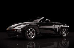 Черный Chevrolete SSR Max