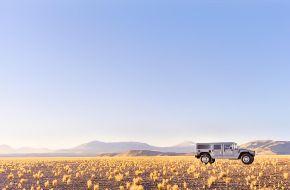 Hummer в пустыне