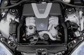 Двигатель Мерседес V12
