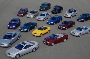 Автомобили Мерседес в разных кузовах