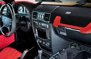 Салон Mercedes-Benz G55 AMG