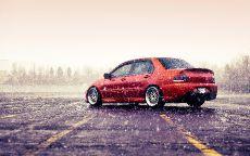 Mitsubishi lancer x rally