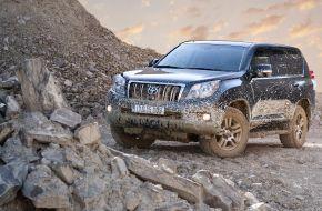 Тойота Лэнд Крузер в грязи