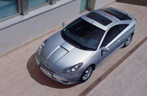 Toyota Celica с люком в крыше