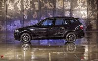 Тюнингованный BMW X3 серия E83.