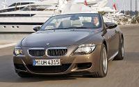 Шикарный BMW M6 Cabriolet в порту.