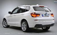 Кроссовер  BMW X3 F25.
