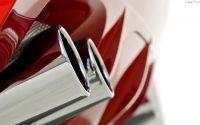 Выхлопные трубы BMW X6.