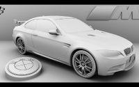 Модель купе БМВ.