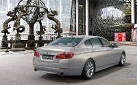 Длинобазовая версия BMW 5.