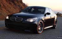 Черный BMW M5