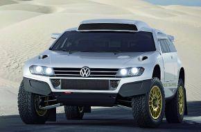 Концепт внедорожника Volkswagen Race Touareg