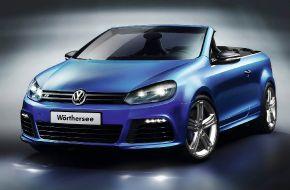 Кабриолет Volkswagen Golf R
