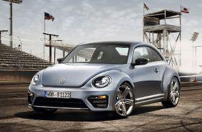 Концепт спортивного  VW Beetle R
