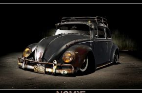 Старый Volkswagen Жук